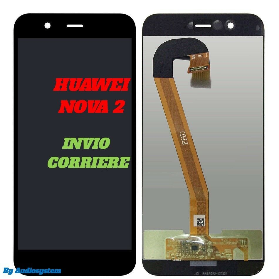 GLS DISPLAY LCD +TOUCH SCREEN per HUAWEI NOVA 2 5