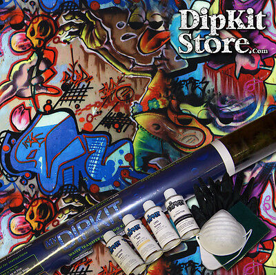 Hydrographics Dip Kit Activator Water Transfer Print Graffiti Hydro Dip Ll-505