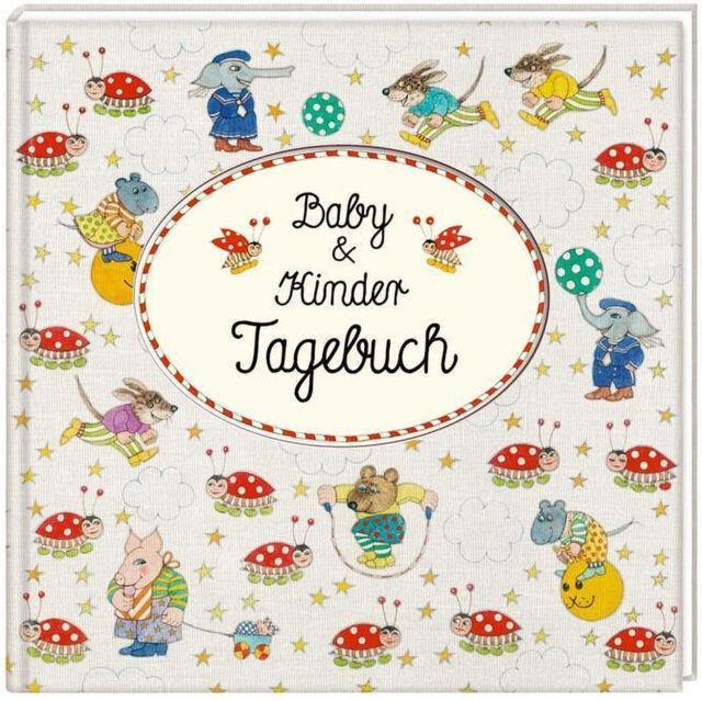Baby & Kindertagebuch Coppenrath Verlag Ill. Antje Vogel Kinder Tagebuch + BONUS