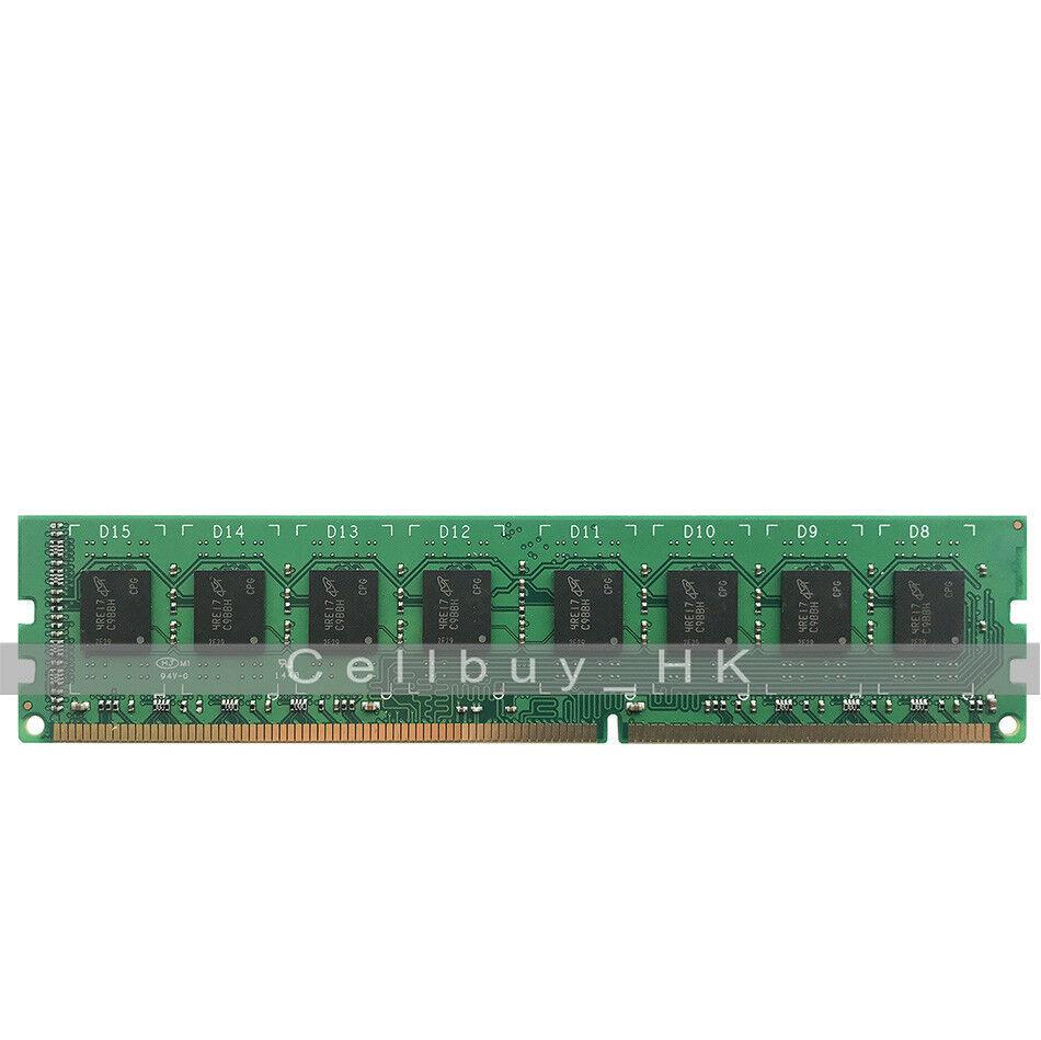 New 2GB PC3-12800U DDR3 1600Mhz 240Pin 1R Dimm RAM Low density Desktop memory