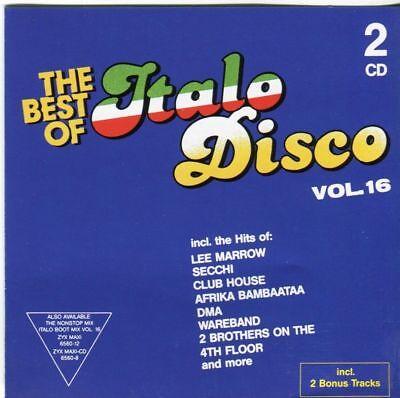 2CD Various - The Best Of Italo Disco Vol. 16 ( 2 AUDIO CDs in JEWEL CASE