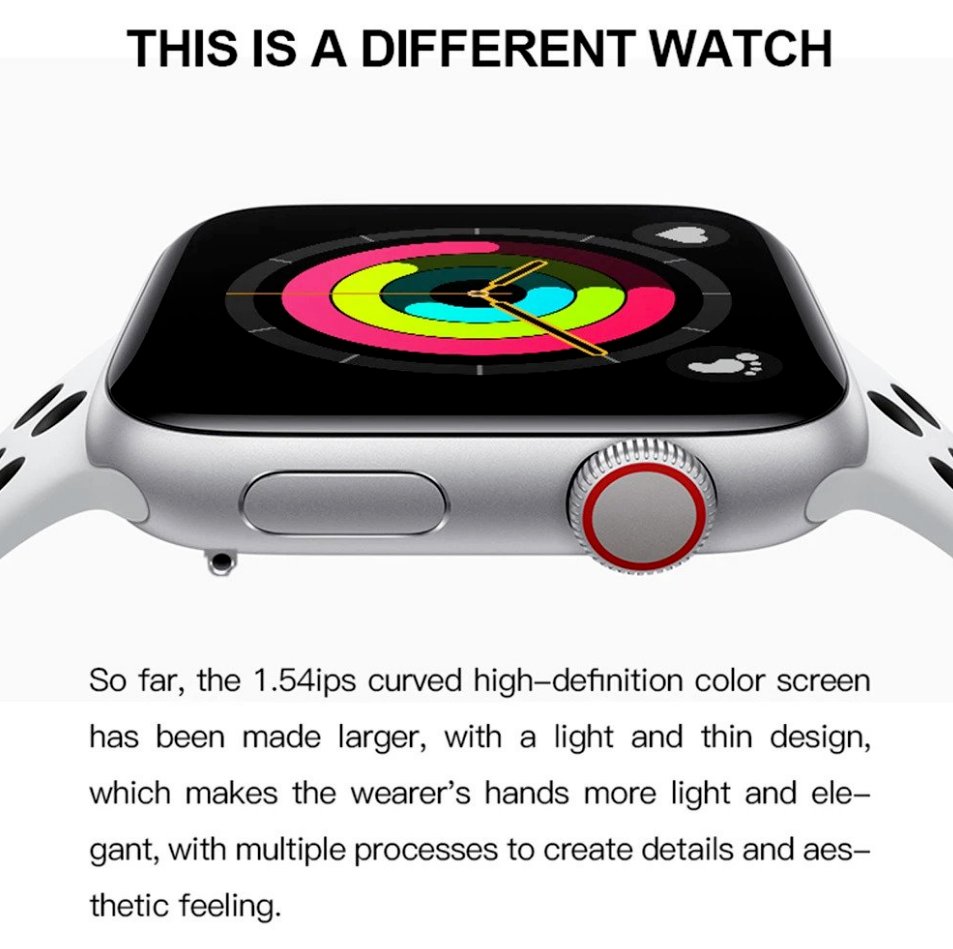 smart watch for apple iphone samsung galaxy
