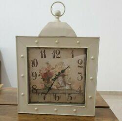 Vintage Unique  Design Wall Clock Made of Metal
