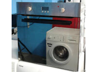 c422 stainless & mirror finish hotpoint single electric oven comes with warranty can be delivered