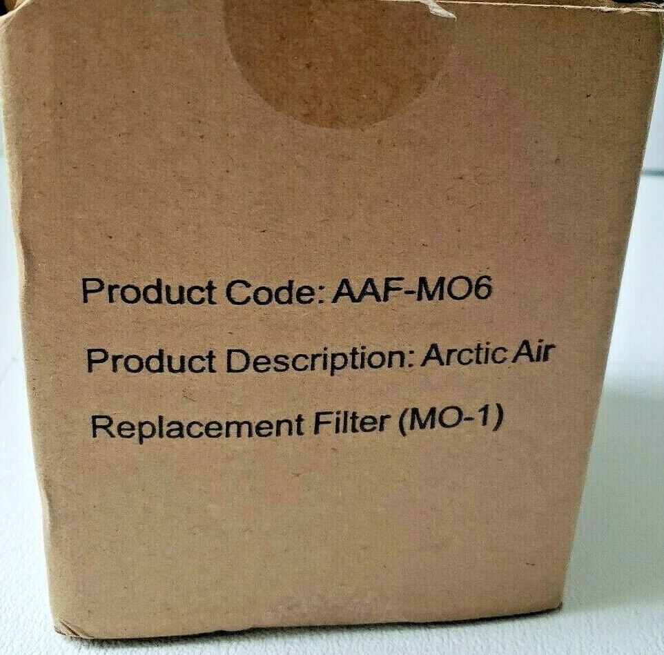 Arctic Air Personal Space Cooler Replacement Filter .. Free