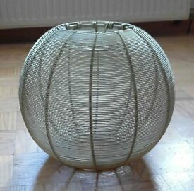 Brass 'Lobster Pot' style Pendant Light Shade