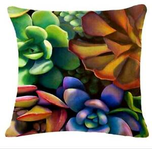 Succulent cushion cover Brand new