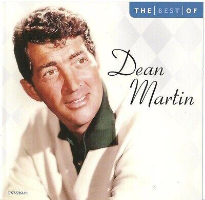 The Best Of Dean Martin / 12 Song CD 2002 EMI Music (Best Dean Martin Song)