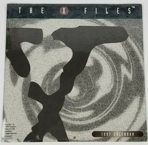 The X-Files 1997 Calendar New Sealed Vintage