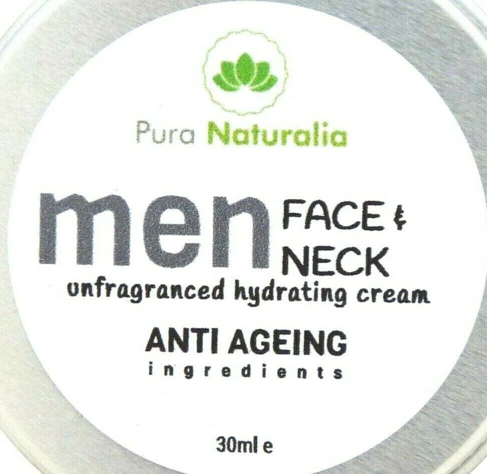 Anti Ageing.Anti-Wrinkle Face Cream for MEN. Non Greasy Hydrating Cream- UK 30ml