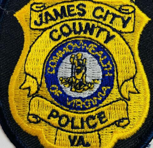 James City County Police Virginia VA Patch (A2)