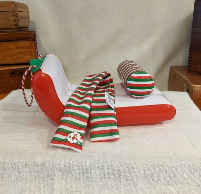 Elf on the Shelf Claus Couture Collection Soaring Snowflake Set Sled & Scarf