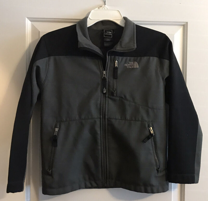 The North Face Boys Size M (10/12) Black / Gray Jacket 🐸