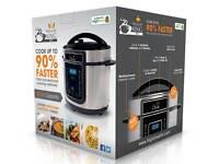 Pressure King Pro 5-Litre 12-in-1 Digital Pressure Cooker