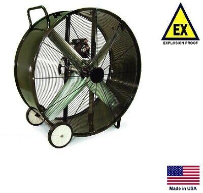 Drum Fan Explosion Proof - Industrial - 48 - 1 Hp - 230460v - 19460 Cfm