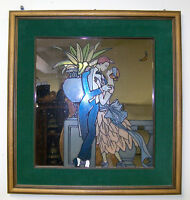 Encadrement VITRAIL sur Miroir – STAINED Mirror Frame from ITALY