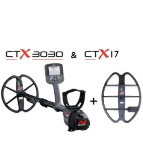 Minelab CTX 3030 Metal Detector comes with free  17
