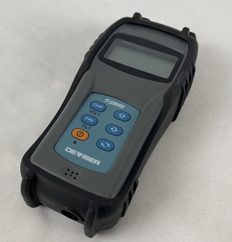 DS2003 Handheld Signal Level Meter *NO Power Supply/Cables* Excellent Condition