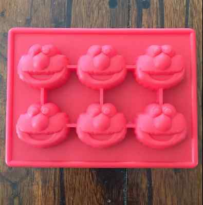 ILICONE CANDY CHOCOLATE SOAP MOLD ELMO PARTY FAVOR  (Elmo Candy)