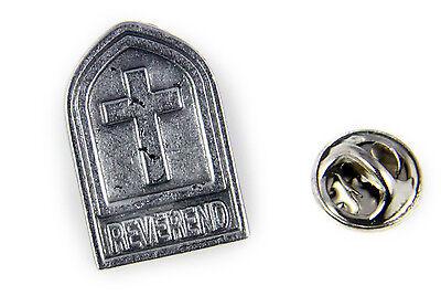 Christian Pins (6030488 Reverend Lapel Pin Tie Tack Brooch Church Cross Christian Minister)