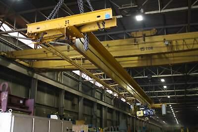 3 Ton X 44 R M Overhead Underslung Bridge Crane Yoder 67890