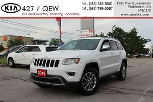2016 Jeep Grand Cherokee Limited  4x4   Leather   Power Liftgate