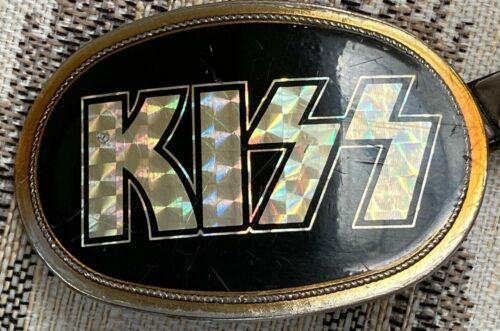 KISS ORIGINAL1976 PACIFICA BELT BUCKLE with belt