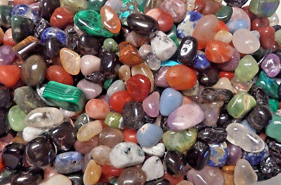 1/4 lb Lots Wholesale Bulk Tumbled Stones: Choose Type (Crystal Healing, 4 oz) A