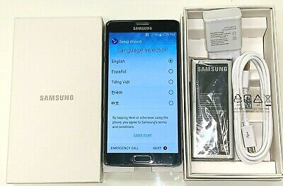 Samsung Galaxy Note4 N910V CDMA Verizon 32GB (GSM Unlock) 4G LTE Black Open Box