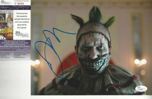 American Horror Story Clown autographed photo John Carroll Lynch up close JSA