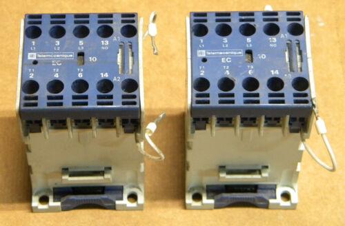 (2) Telemecanique LP4-EC-03 Contactors LP4EC03