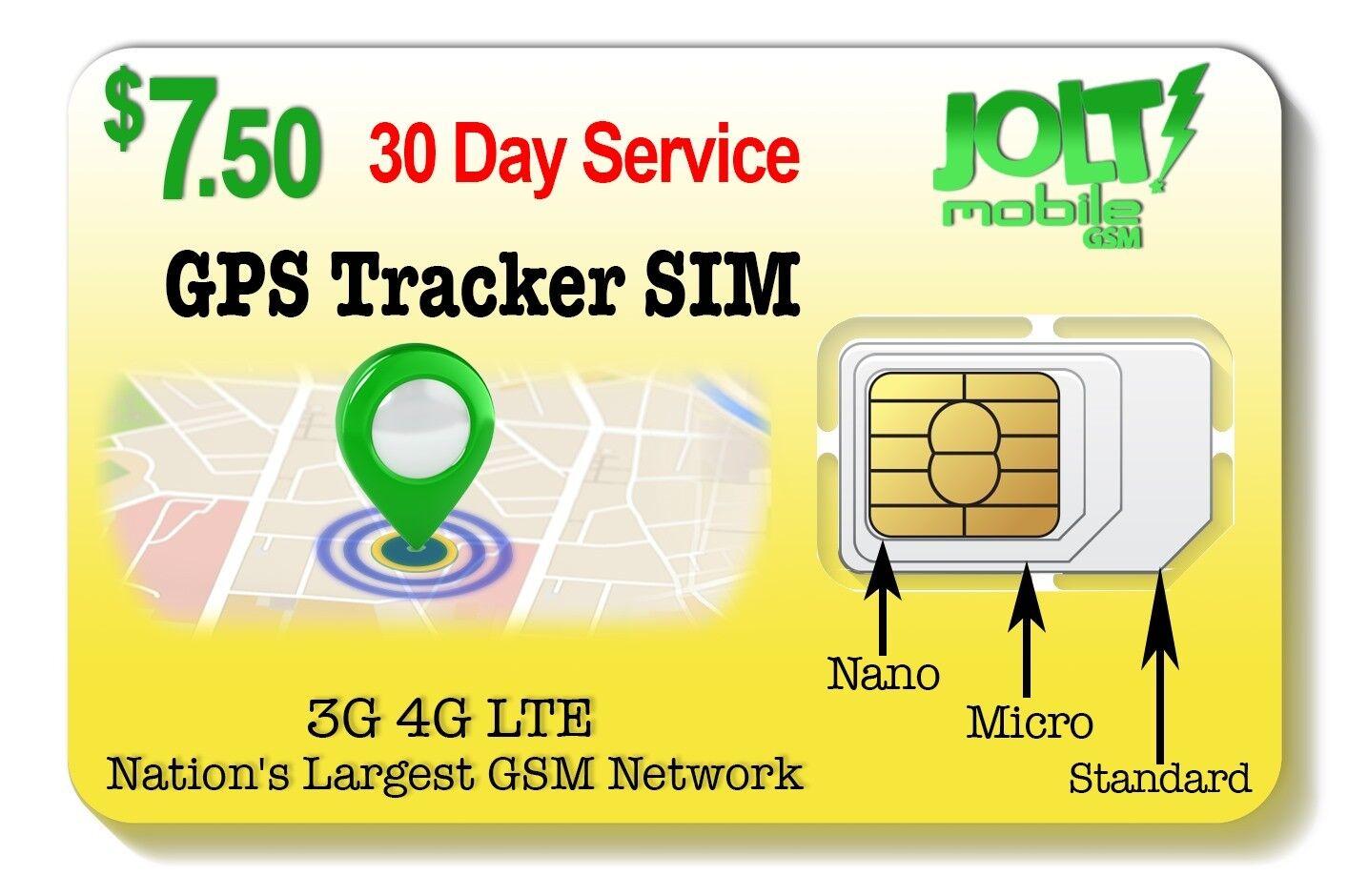 SpeedTalk Mobile $5 Prepaid GSM Sim Card For GPS Tracking Pet Senior Kid Child