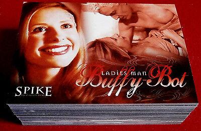 Joss Whedon's SPIKE: (Buffyverse) - Complete Base Set (72 Cards) - Inkworks 2005