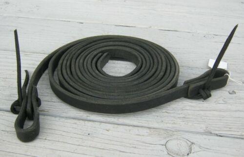 "Weaver Black Leather Split Reins 5/8"" 23776"