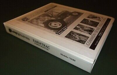 Long Farmtrac 70 80 Tractor Parts Manual Book Catalog