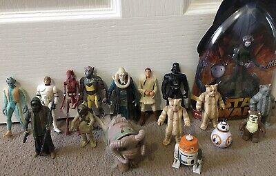 Star Wars Assorted Figures Vintage And Modern