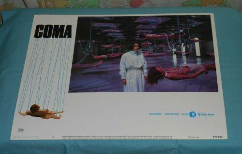 original COMA lobby card #1