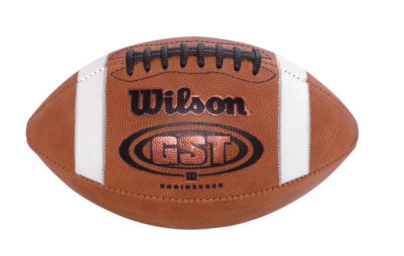 Wilson GST Junior/Intermediate Leather Football