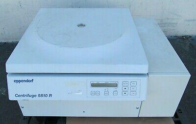 Eppendorf 5810r Refrigerated Laboratory Benchtop Centrifuge