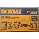 DEWALT DCK520D2 20V MAX Lithium-Ion 5-Tool Combo Kit Drill Impact - BRAND NEW !!