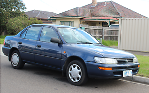 1996 Toyota Corolla Sedan St Albans Brimbank Area Preview