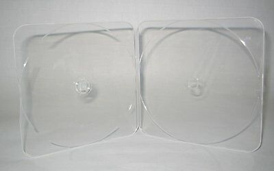 200 4MM SLIM SINGLE CD DVD POLY CASE BOX CLEAR -  PS09