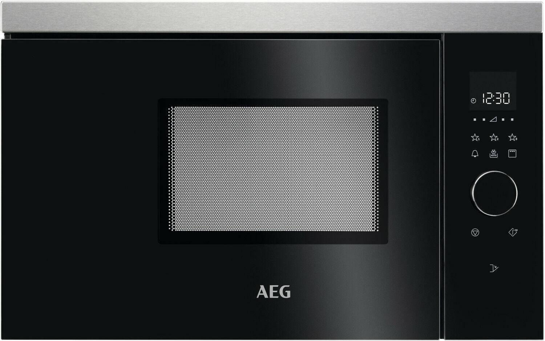AEG MBB1756DEM Einbau Mikrowelle 800 W Grillleistung 17 Liter-Garraum schwarz