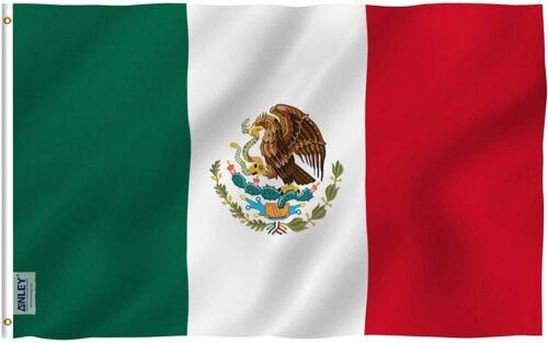 Mexico FLAG 5 x 3 FT LARGE Bandera de México Mexican Eagle National America New
