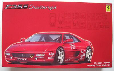 Ferrari F355 Challenge Bausatz FUJIMI Maßstab 1:24 OVP NEU