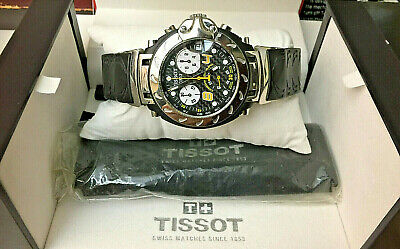 Tissot T-Race Moto GP G10 Chronograph Black Rubber Mens Qrtz Watch T011417AM07