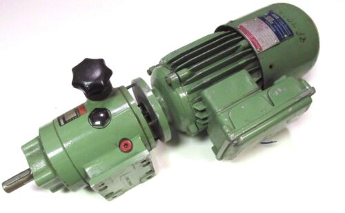 * Emod Bremsmotor Type B63L/2 Motor w/ Neuweg Variducer . Delta 220/380yV .UG-01