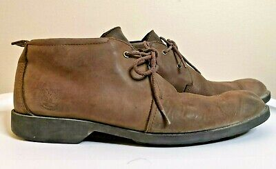 Mens Timberland Earthkeepers Chukka Boots Brown Leather Size -