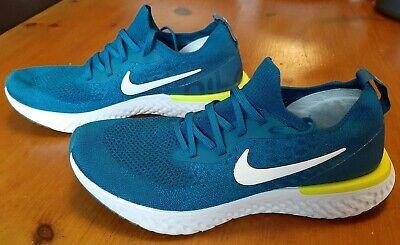 Nike Epic React Flyknit 2 Size 9 Mens Blue