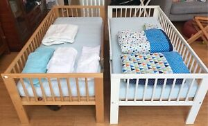 Pair IKEA Gulliver Toddler Beds | Cots & Bedding | Gumtree ...